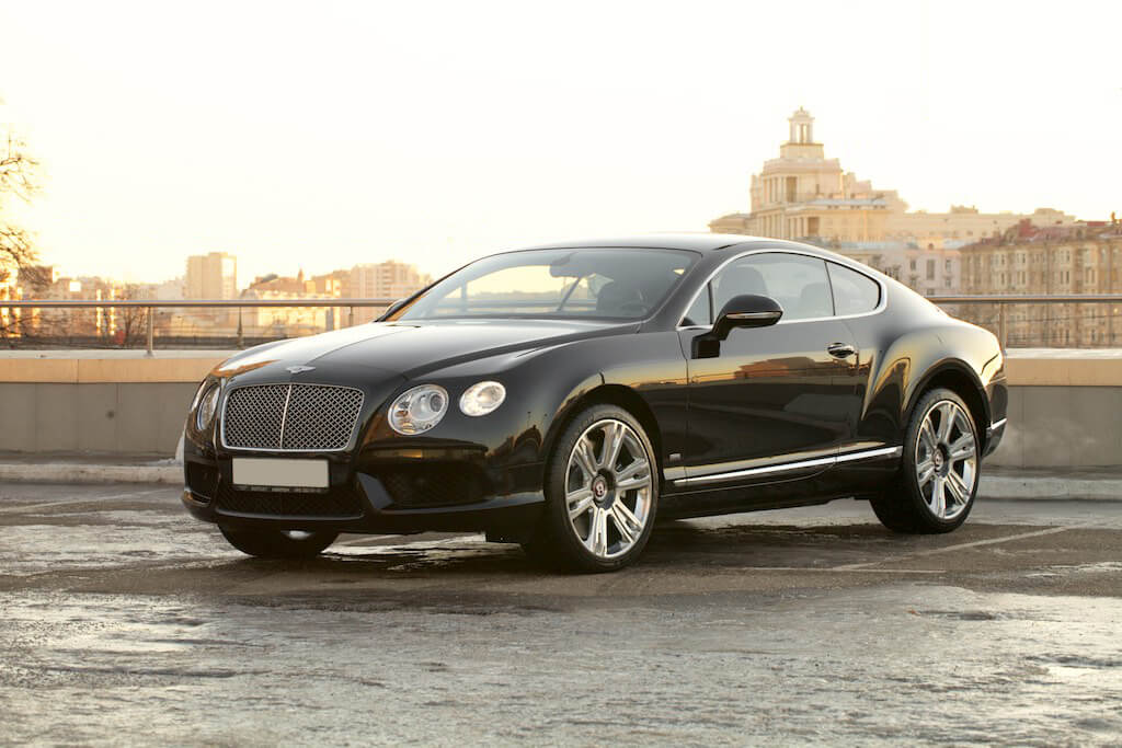 Фотосъемка Bentley Continental GT